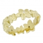 Preview: Ring 585 Gold Blumen Brillanten