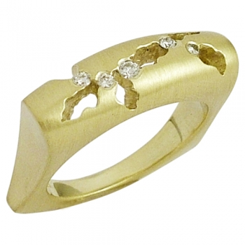 Ring 585 Gold Brillanten