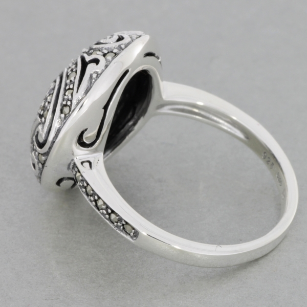 Esse-Ring-Silber-Markasite