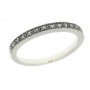 esse - Ring 925 Silber Markasite - 52